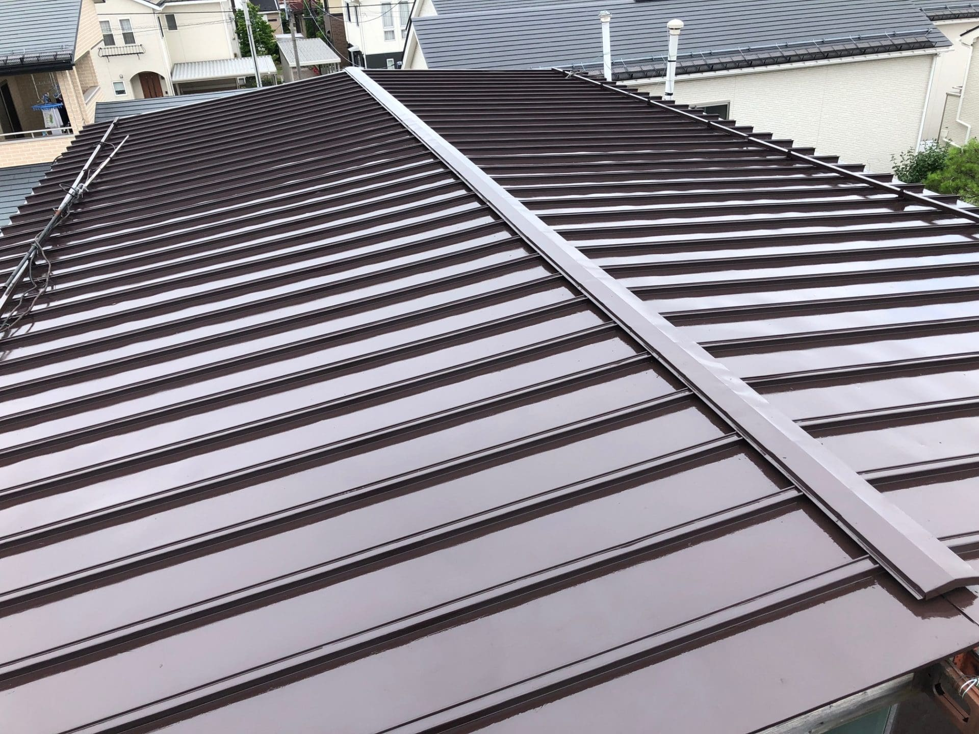 【K様宅】屋根塗り替え工事