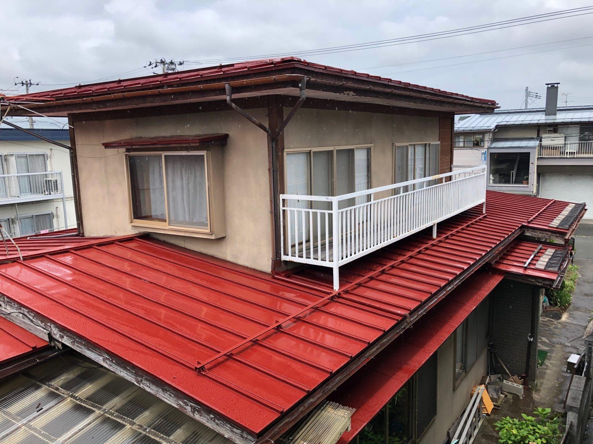 【U様宅】屋根塗り替え工事